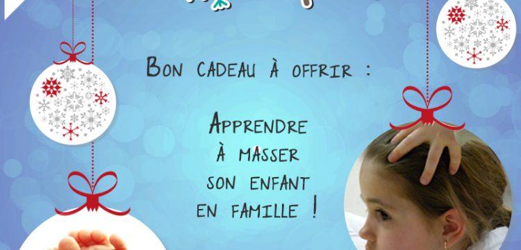 Idée cadeau pour Noël : la découverte du massage en famille !à Nancy et Toul, Meurthe-et-Moselle