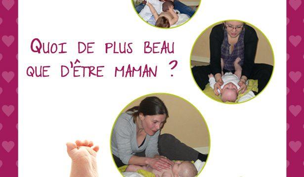 Idée cadeau fête des mères : massage enfant ou bébé, Meurthe-et-Moselle