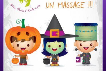 Cours massage enfant et bébé, Nancy